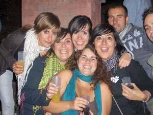 Las chicas de fiesta