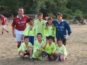 Campeones en el torneo en Pedro en el 2006