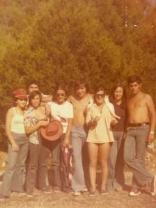 Excursión 1976 Rio Lobo