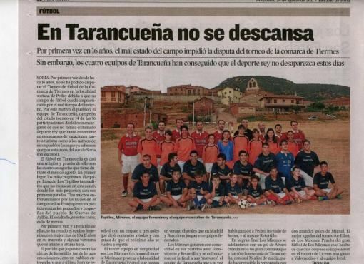 Noticia Heraldo Soria 2011