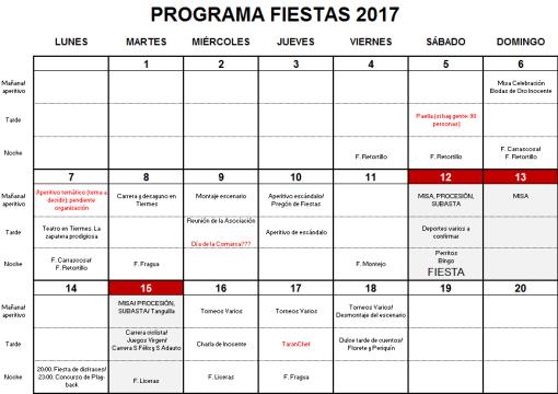 plan verano 2017